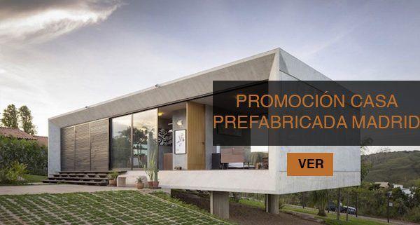 Blog casas prefabricadas de hormig n the concrete home - Casas prefabricadas madrid ...