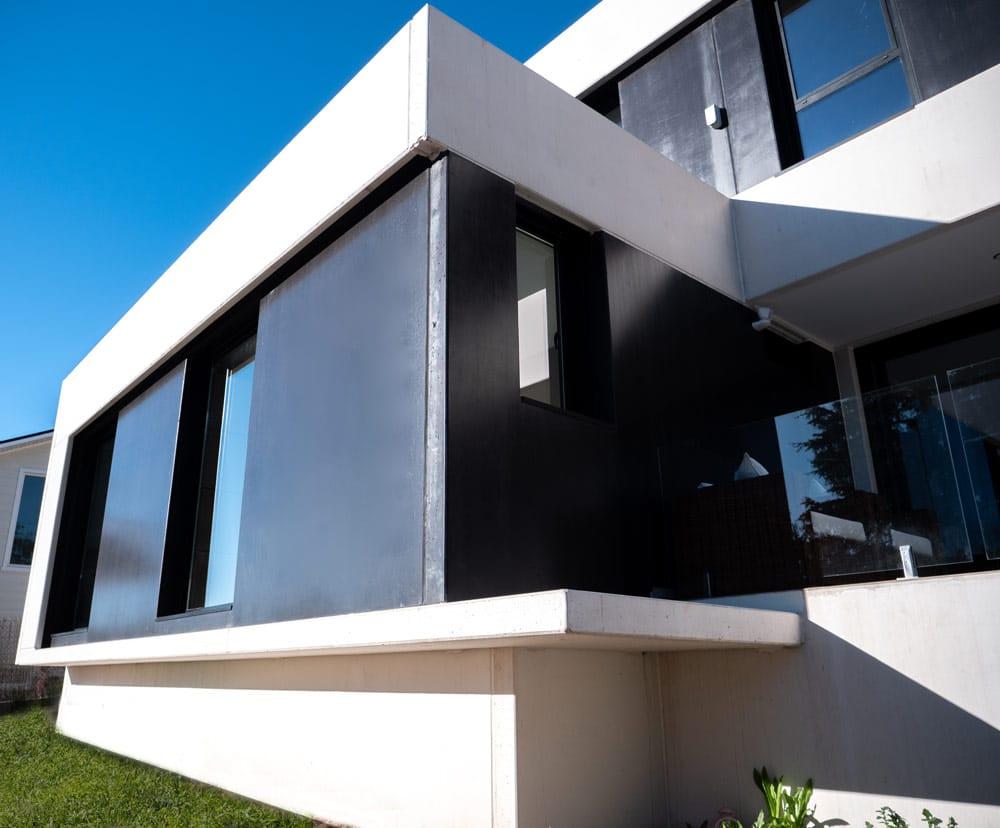 vivienda modular de hormigon