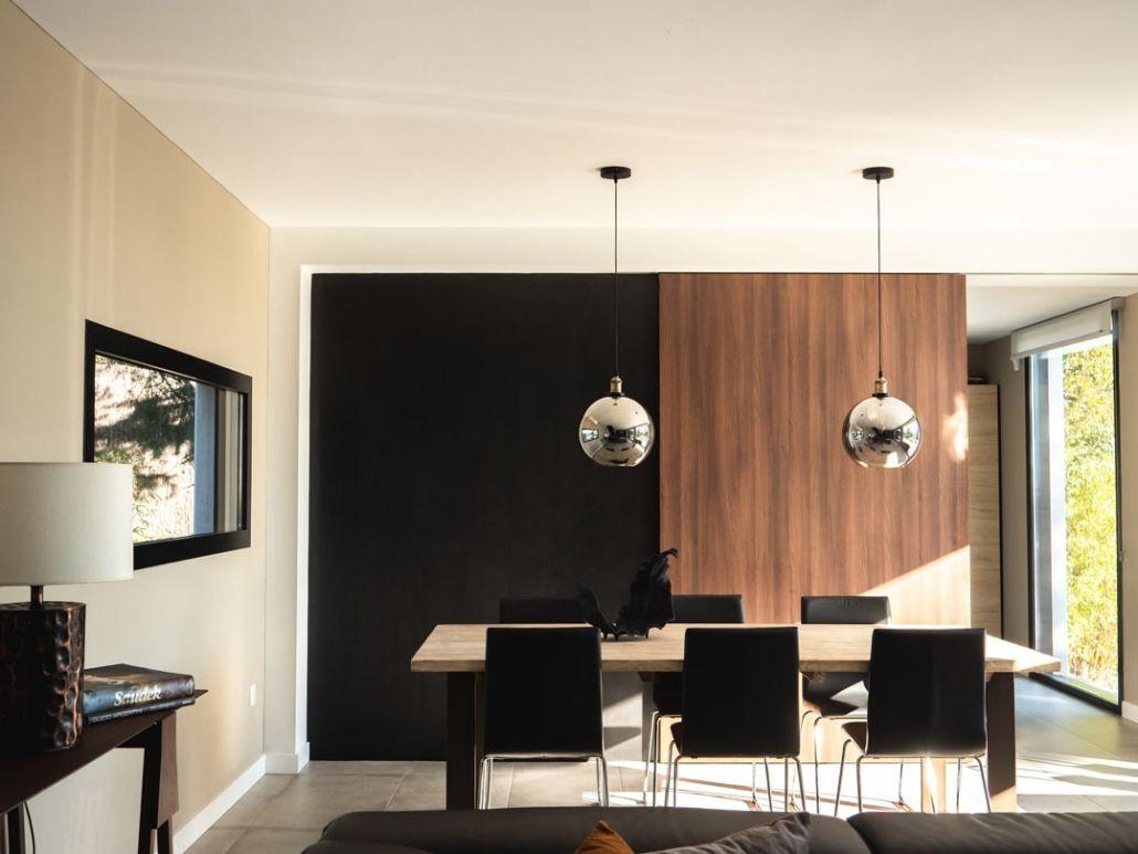 salon comedor casas prefabricadas