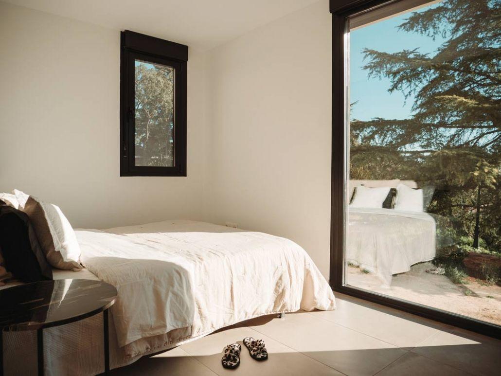 dormitorio vivienda prefabricada madrid