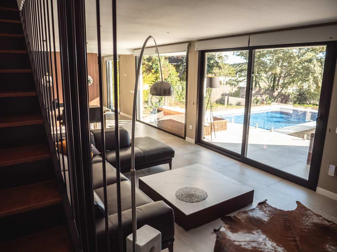 salon casa prefabricada