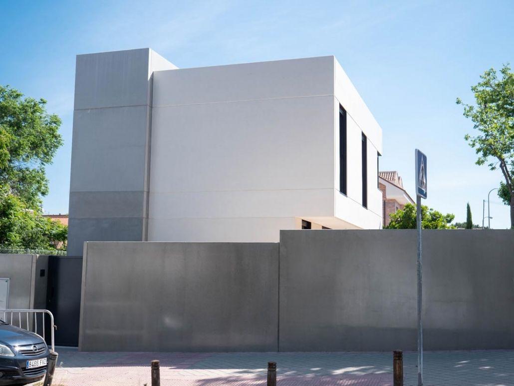 Vivienda de lujo en madrid centro casa prefabricada de hormigon