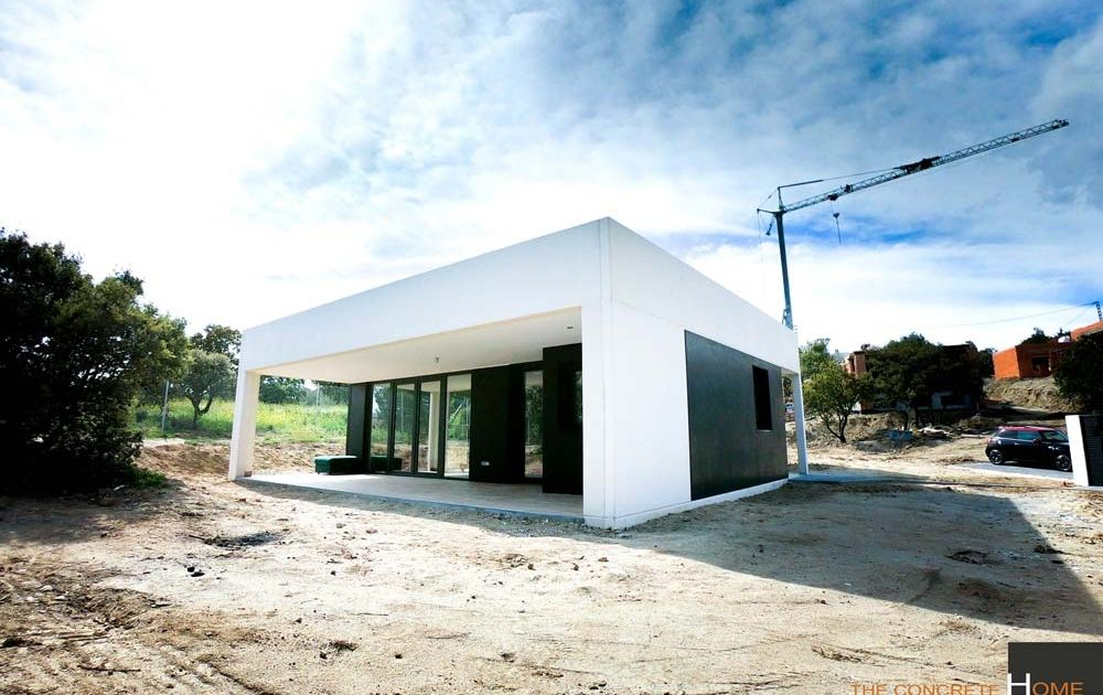 vivienda prefabricada de hormigon toledo