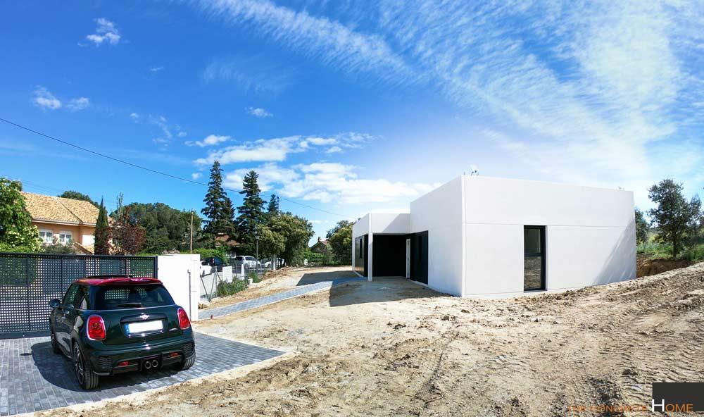 vivienda modular hormigon badajoz