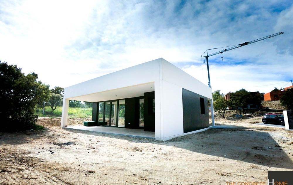 vivienda prefabricada hormigon badajoz